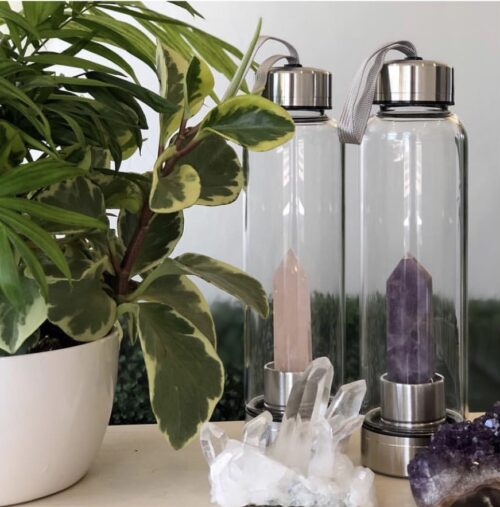 The Source Crystal Water Bottle