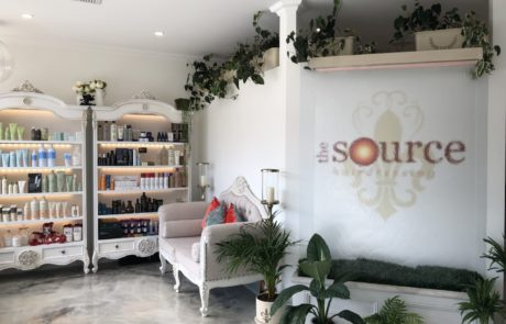 The Source Hairdressing Entry and Products
