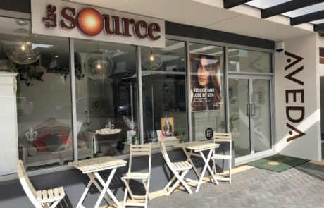 The Source Hairdressing Shop Front